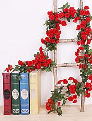 Недорогие -Искусственные Цветы 1 Филиал Классический С креплением на стену Традиционный Свадьба Розы Вечные цветы Цветы на стену