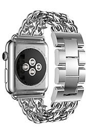 baratos -cinta de aço inoxidável malha fina 0.4 linha milan malha de metal com fivela para apple apple watch 4 series 4/3/2/1 geração