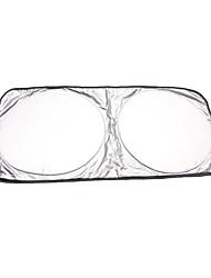 Недорогие -150x80см складная крышка переднего ветрового стекла автомобиля солнцезащитный козырек защитная крышка от ультрафиолетового излучения