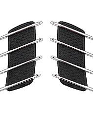 preiswerte -Silberschwarz Auto Aufkleber Türaufkleber keine Angaben Aufkleber
