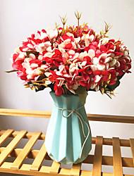 preiswerte -Künstliche Blumen 1 Ast Klassisch Europäisch Hochzeitsblumen Hortensie Ewige Blumen Tisch-Blumen