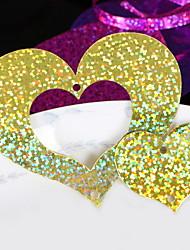 Недорогие -Праздничные украшения День Святого Валентина Декоративные объекты Для вечеринок Золотой 1шт