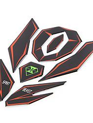 Недорогие -3d мотоцикл светоотражающая наклейка топливный бак защитная крышка наклейка наклейка для Honda KTM Yamaha