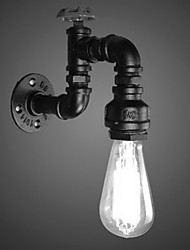 Недорогие -труба Винтаж Кабинет / Офис / кафе Металл настенный светильник 110-120Вольт / 220-240Вольт 4 W