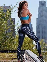 Χαμηλού Κόστους -Ρούχα Γυμναστικής Παντελόνια Φούστες Γυναικεία Εκπαίδευση Πολυεστέρας Σχέδιο / Στάμπα / Διαφορετικά Υφάσματα Παντελόνια