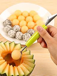 halpa -Ruostumaton teräs PP (polypropeeni) Manuaalinen Työkalut lusikka Ekologinen Manuaali Creative Kitchen Gadget Keittiövälineet Työkalut Päivittäiskäyttöön Monikäyttö For Keittoastiat 1kpl