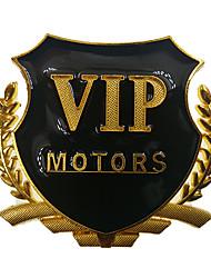 preiswerte -Gold / Silber Auto Aufkleber Chinesischer Stil Auto Schwanz Aufkleber Text / Nummer Aufkleber