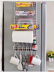 baratos -Alta qualidade com Ferro Acessórios para gabinete Para utensílios de cozinha Cozinha Armazenamento 2 pcs