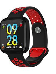 Недорогие -F15 умный браслет монитор сердечного ритма артериальное давление крови кислородный диапазон дистанционного управления музыкой часы pk fitbits