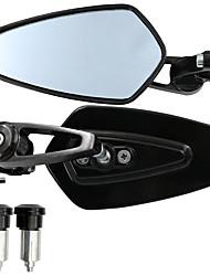 Недорогие -1 пара ручек мотоцикла, боковое зеркало заднего вида, вид сзади для msx125