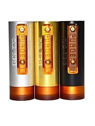 Недорогие -purge mini 18650 mod 1 шт. паровые моды vape электронная сигарета для взрослых с катушками из хлопка и батареей 18650