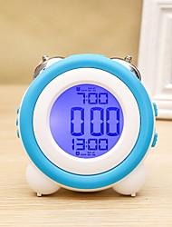ieftine -ceas de ceas de masă modern contemporan rotund de plastic
