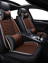 Недорогие -накидка на сиденье автомобиля дышащая гречневая льняная подушка на четыре сезона / пять сидений / общий моторный чехол