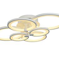 Недорогие -6-голова современный стиль простота акрил водить потолочная лампа заподлицо гостиная гостиная столовая спальня светильник