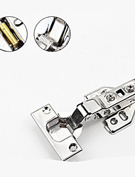 Недорогие -Нержавеющая сталь 304 со средним изгибом съемный демпфирующий гидравлический буферный шарнир шкафа двери шкафа большой изгиб в изгибе прямой изогнутый шарнир трубы самолета