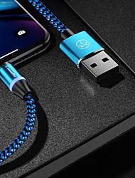 Недорогие -caseme type-c кабель магнитное зарядное устройство кабель телефона быстрая зарядка светодиодная 1,0 м (3 фута) нейлоновая оплетка для Samsung / Huawei / Sony / Xiaomi / OPPO / VIVO