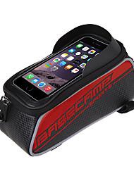 olcso -Kormánytáska 5 hüvelyk Kerékpározás mert Egyéb hasonló méretű telefonok Lóhere Ezüst Rubin Szórakoztató biciklizés