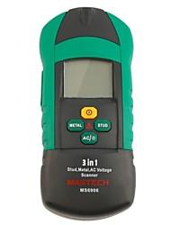 abordables -mastech ms6906 detector de metal precioso detector de pared detector de cable detector de metales detector de pared detector de alambre perno 3-en-1 detector