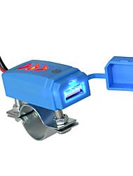 Недорогие -автомобильное зарядное устройство для мобильного телефона с синим индикатором 2.1a