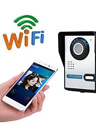 olcso -wifi nincs képernyő (kimenet app) wifi / ip ajtócsengő hd 1080p vízálló videó csengő hívás intercom távoli kinyit funkció