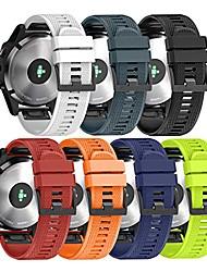 Недорогие -Ремешок для часов для Fenix 3 HR / Fenix 3 Sapphire / Fenix 3 Garmin Спортивный ремешок силиконовый Повязка на запястье