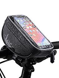 Недорогие -Wheel up Бардачок на руль 6 дюймовый Водонепроницаемость Велоспорт для Велосипедный спорт Черный Горный велосипед Шоссейный велосипед На открытом воздухе