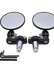 Недорогие -Мотоцикл круговой складной зеркало заднего вида боковое выпуклое зеркало