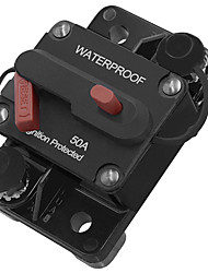 Недорогие -50a 100a 150a автомобильный мотор аудио ремонт энергии встроенный выключатель предохранитель ручной сброс 12 В / 24 В
