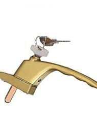 Недорогие -пластиковые стальные распашные двери фурнитура из алюминиевого сплава квадратный вал коробка передач ручка замка
