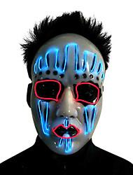 Недорогие -Вампиры Косплэй Kостюмы Маски Маскарад Взрослые Муж. Хэллоуин Рождество Хэллоуин Карнавал Фестиваль / праздник Пластик Белый Карнавальные костюмы Контрастных цветов LED