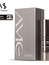 Недорогие -15мл / флакон быстро красящий полупостоянный цвет макияжа для глаз супер черный эмульгированные пигменты микроблейдинга для ручной / машинной татуировки