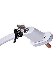 Недорогие -дверная и оконная фурнитура замок с ручкой передачи ключа пластиковая стальная дверная и оконная ручка