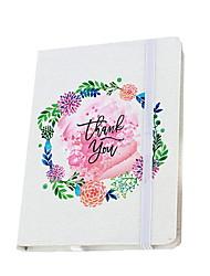 Недорогие -Новинка бумага ручная роспись цветы шаблон повязка катушка книга / тетрадь блокнот для школьного офиса канцтовары