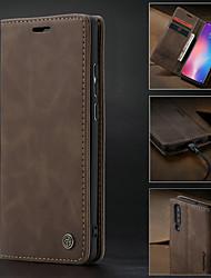 رخيصةأون -CaseMe غطاء من أجل Xiaomi مي 9 محفظة / حامل البطاقات / ضد الصدمات غطاء كامل للجسم لون سادة قاسي جلد PU إلى Xiaomi Mi 9
