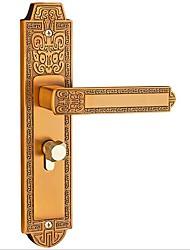 Недорогие -европейский крытый спальня дверной замок механический дверной замок дома немой твердой древесины дверной замок с дверным замком
