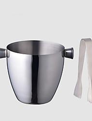 Недорогие -2pcs Нержавеющая сталь Ведерки для льда и охладители для вина Винные аксессуары Многофункциональные Вино Аксессуары для Barware