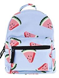 halpa -Naisten Vetoketjuilla Backpack Suuri tilavuus Oxford-kangas / PVC Taivaan sininen