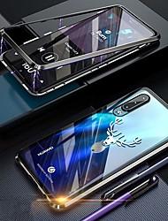 Недорогие -Кейс для Назначение Huawei Huawei P30 Pro Защита от удара / Защита от пыли / Прозрачный Чехол Прозрачный Твердый Закаленное стекло