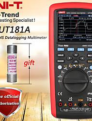 Недорогие -uni-t ut181a true rms регистратор данных мультиметр цифровой мультиметр фильтрация нижних частот / ns проводимость / двойное измерение температуры