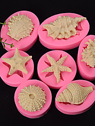 Недорогие -6шт силикагель Для торта Формы для пирожных Инструменты для выпечки