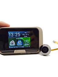 Недорогие -2,8-дюймовый мобильный интеллектуальный визуальный электронный кошачий глаз запись фотографий с низким энергопотреблением многоязычный