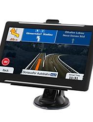 Недорогие -7-дюймовый Android 16 ГБ автомобильный навигатор GPS-навигатор спутниковое на ав-в Wi-Fi передатчик FM бесплатные карты