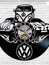 Недорогие -Volkswagen автомобиль уникальный виниловые пластинки настенные часы вентилятор подарок домашнего декора комнаты искусства