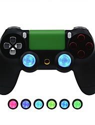 Недорогие -запасные части игрового контроллера беспроводной контроллер ps4 модифицированный светодиодный световой щит xbox одна ручка светодиодный световой щит с рокером