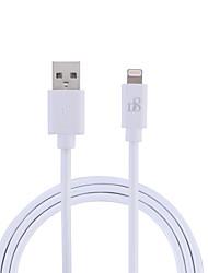 Недорогие -df mfi кабель молнии micro usb / кабель молнии 3 м (10 футов) кабель для зарядки tpe кабель для передачи данных кабель для быстрой зарядки для iphone / ipad / ipod