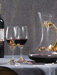 Недорогие -3шт Металлический сплав Стекло Товары для бара изделия из стекла Инструменты для барменов и сомелье Винные стеллажи Классический Вино Аксессуары для Barware