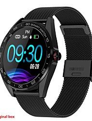 Недорогие -K7 смарт-часы IP68 водонепроницаемый SmartWatch монитор сердечного ритма артериального давления браслет здоровья бизнес наручные часы фитнес-трекер.