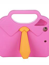 Недорогие -Кейс для Назначение Apple iPad Mini 3/2/1 / iPad Mini 4 Защита от удара / Безопасно для детей Кейс на заднюю панель Однотонный / 3D в мультяшном стиле Этиленвинилацетат