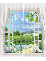 Недорогие -Европейский стиль цифровой печати из полиэстера, занавески для штор, водонепроницаемые и защищающие от плесени занавески для ванной комнаты