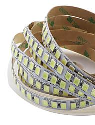 Недорогие -светодиодные 12v smd 5050 10мм светодиодные ленты светодиодные ленты 600 светодиодов без водонепроницаемых световых полосок пакет из 5м полос